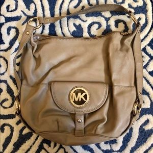 Michael Kors handbag leather